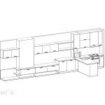 кухня, индивидуален проект, шкафове