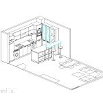 проект, кухня, барплот, мебели по поръчка
