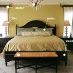 фъншиу в пастелни цветове в спалнята