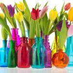 цветно стъкло и свежест