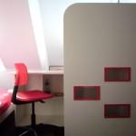 детска стая в таванско помещение